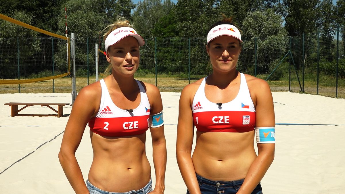 Takový industriál jsme na turnaji nezažily, těší se do Ostravy beachvolejbalistky Sluková a Hermannová