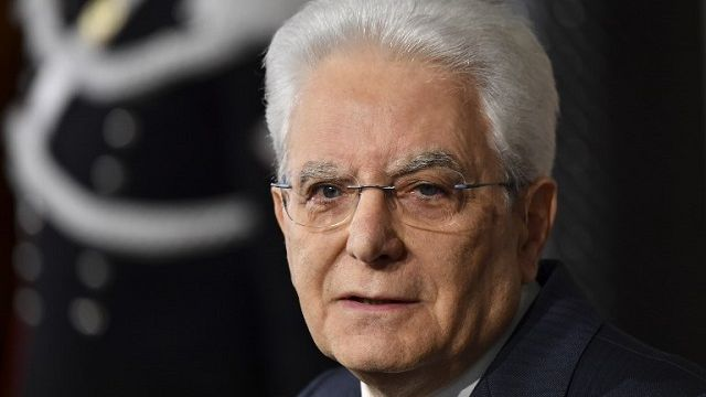 Italský prezident stále nerozhodl o navrženém kandidátovi na premiéra