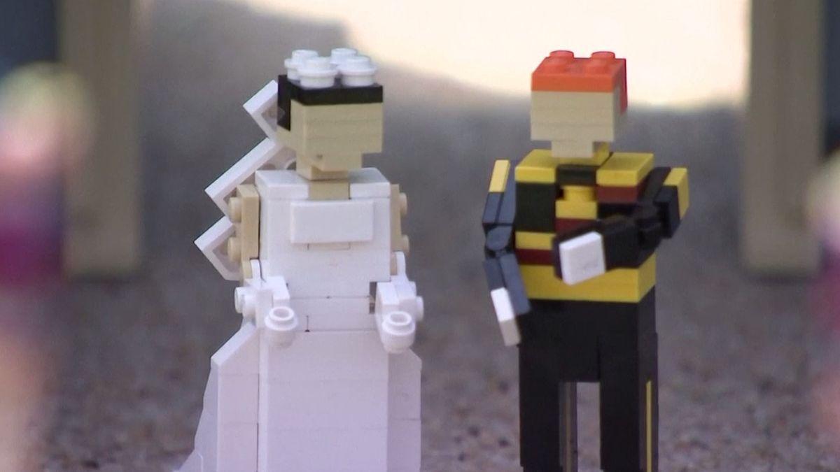 Svatba prince Harryho a Meghan Markleové bude mít v Legolandu svůj památník