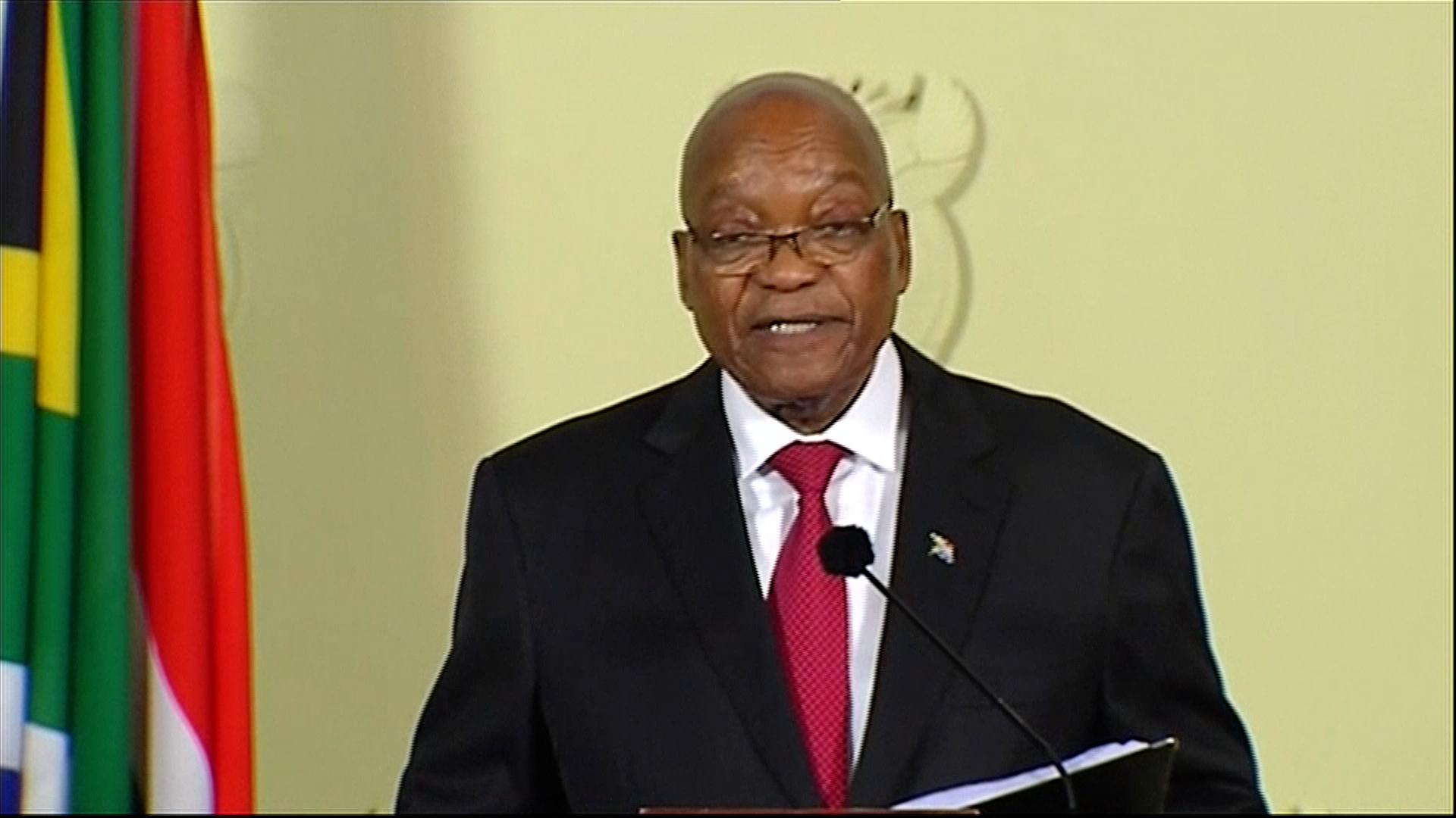 Jihoafrický prezident Jacob Zuma rezignoval na svou funkci s okamžitou platností