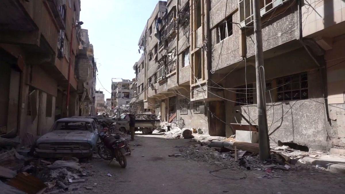 Rusko obvinilo Spojené státy, že v Sýrii použily zakázané fosforové bomby