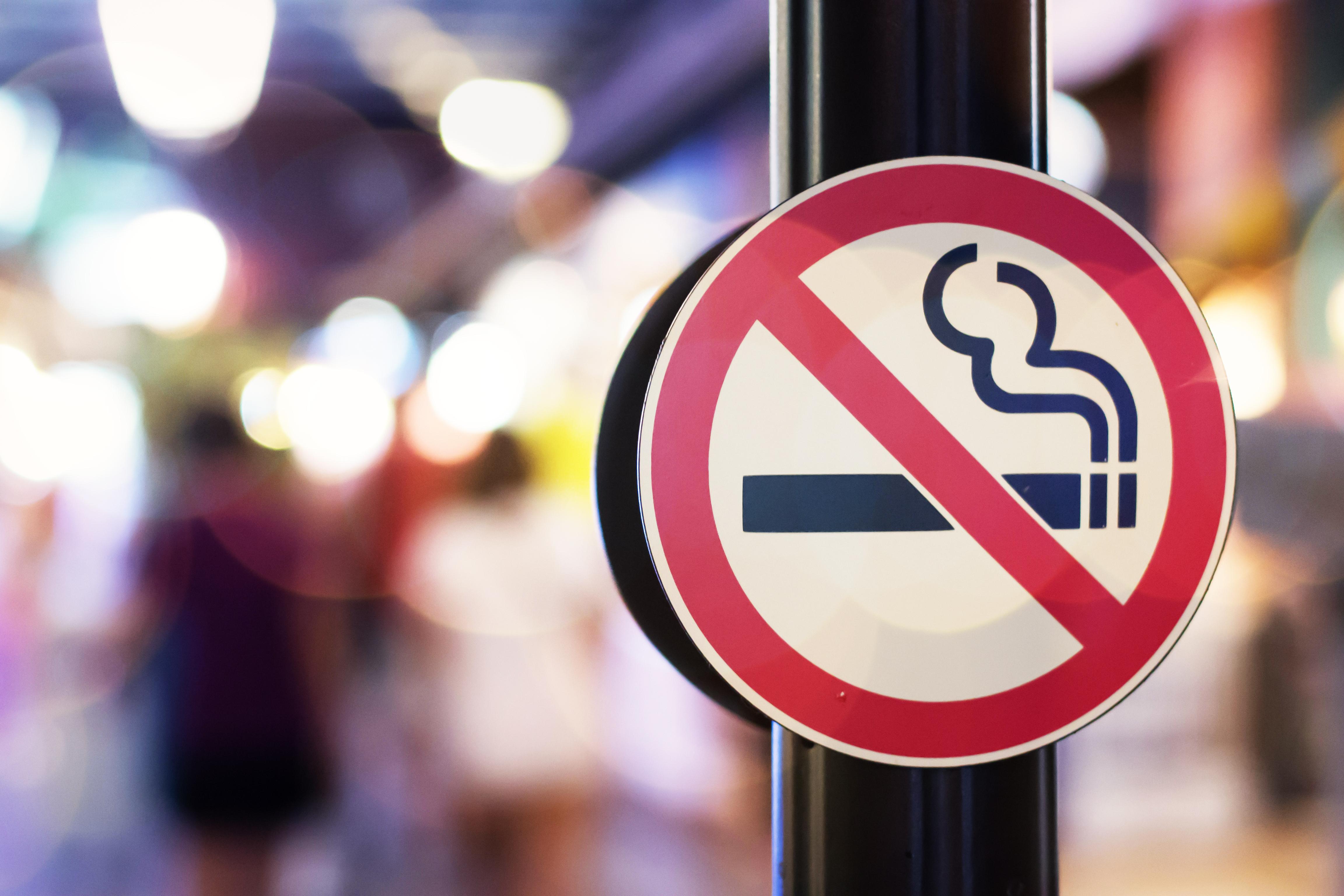 Pouze 18 kouření