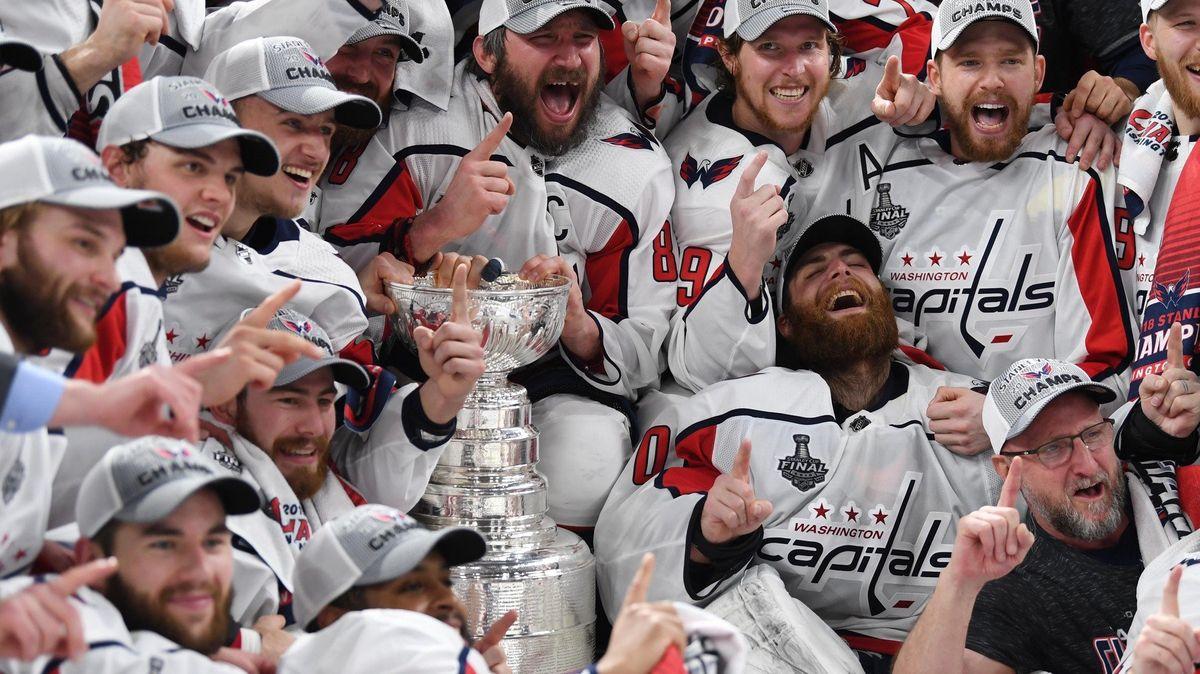 Ovečkin se dočkal, Washington slaví Stanley Cup! Gólem k tomu přispěl i Jakub Vrána