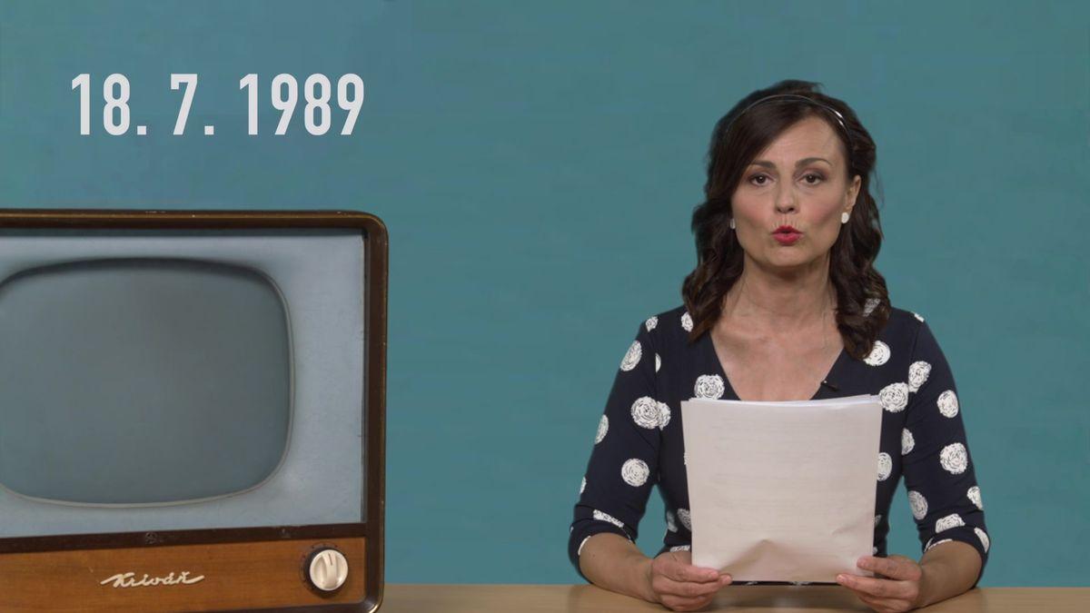 On-line z roku 1989: Jak vypadal dnešek v týdnu, kdy nám vládli komunisté. V krátkém filmu z roku 1989 sami přiznali, jak brutálně zničili Jizerské hory