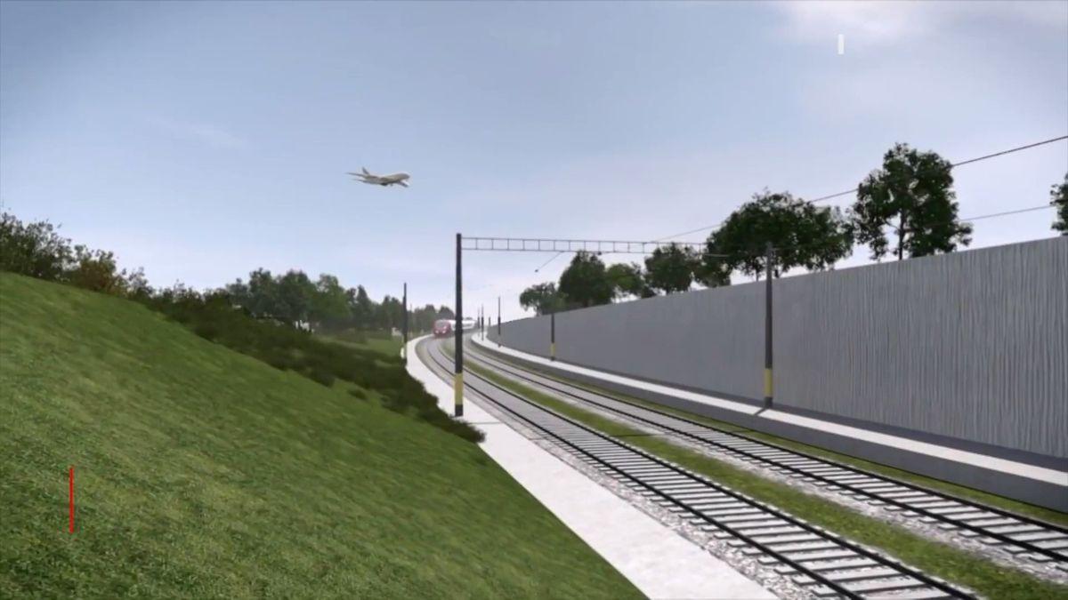 Letiště Praha spustilo práce na své nové podobě. Počítá se s přestupem z vlaků do letadel