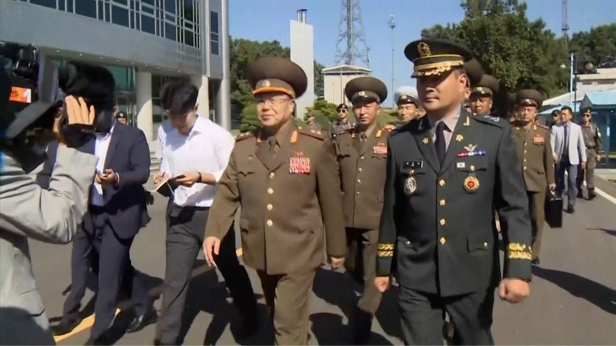 Generálové Severní a Jižní Koreje se opět setkali. Diskutovali o snížení napětí na poloostrově