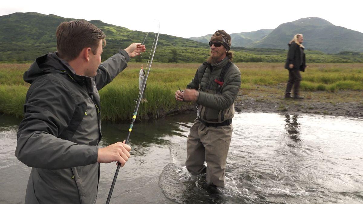 Chytit jde i padesátikilogramovou rybu. Reportér Seznamu v rybářském ráji na Aljašce