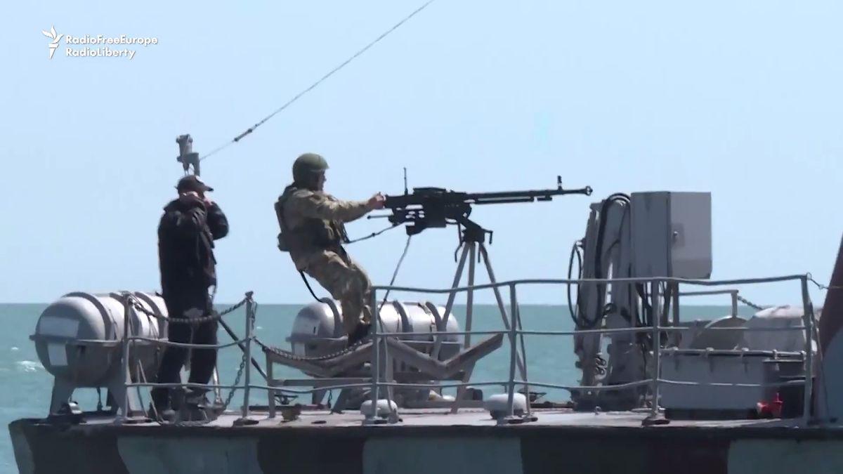 Napětí mezi Ruskem a Ukrajinou se stupňuje i v Azovském moři
