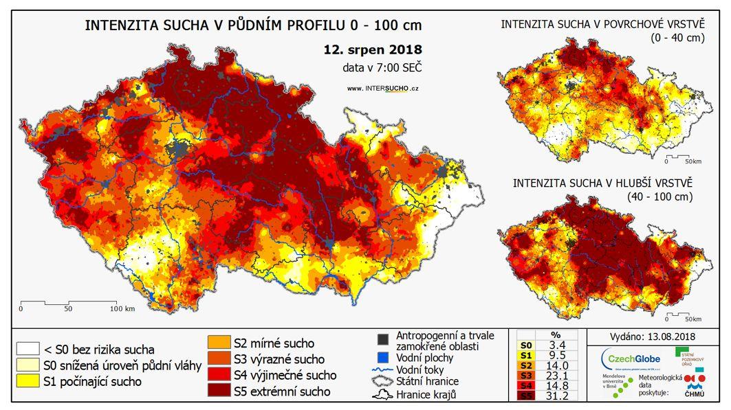 Mimořádný dokument pro vládu: Tak kritické je v Česku sucho
