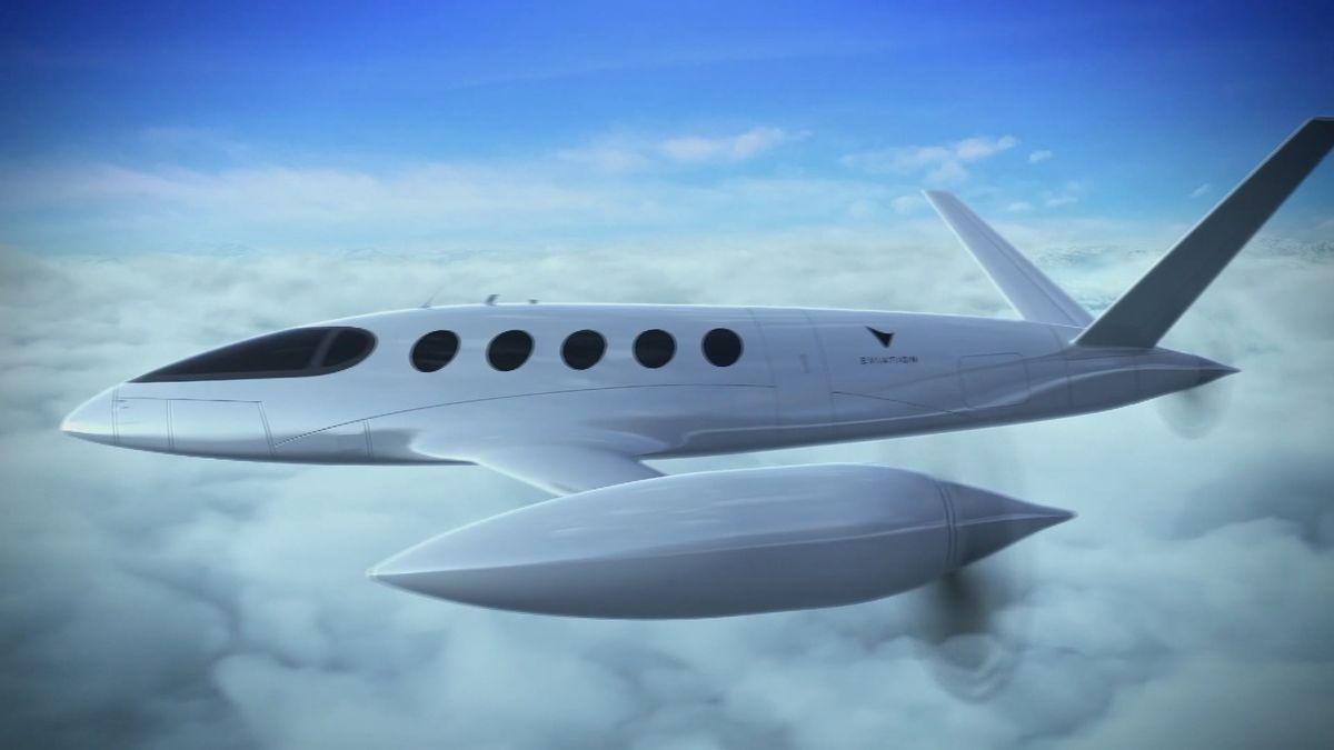 Letadla na elektřinu už za tři roky. Firmy žene závod oprvní létající taxík, drahá paliva iemise