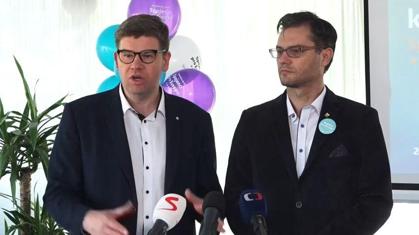 Rusko je pro nás velkým nebezpečím. Koalice TOP 09a STAN představila program pro eurovolby