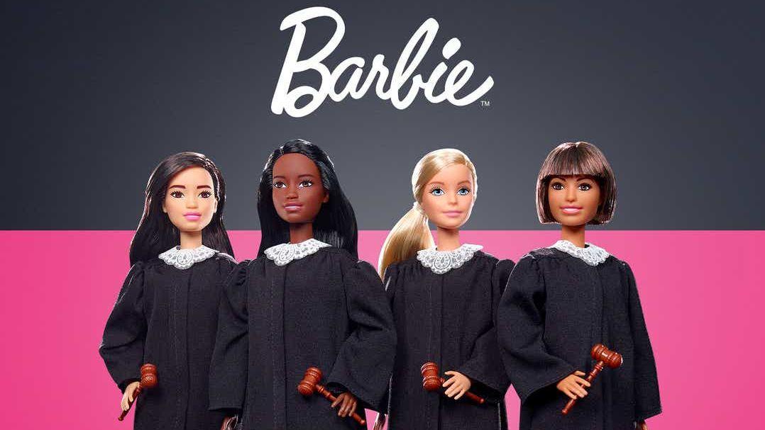 Mattel představil novou panenku Barbie. Tentokrát vroli soudkyně