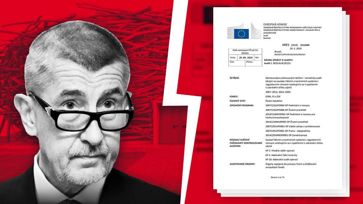 Exkluzivně na Seznamu: Český překlad auditu odotacích a Babišově střetu zájmů