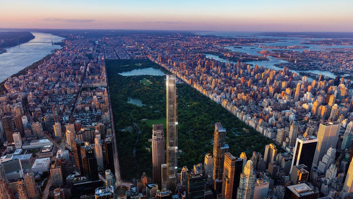 Nejvyšší obytný mrakodrap světa je dokončen. Byty začínají až ve 30.patře
