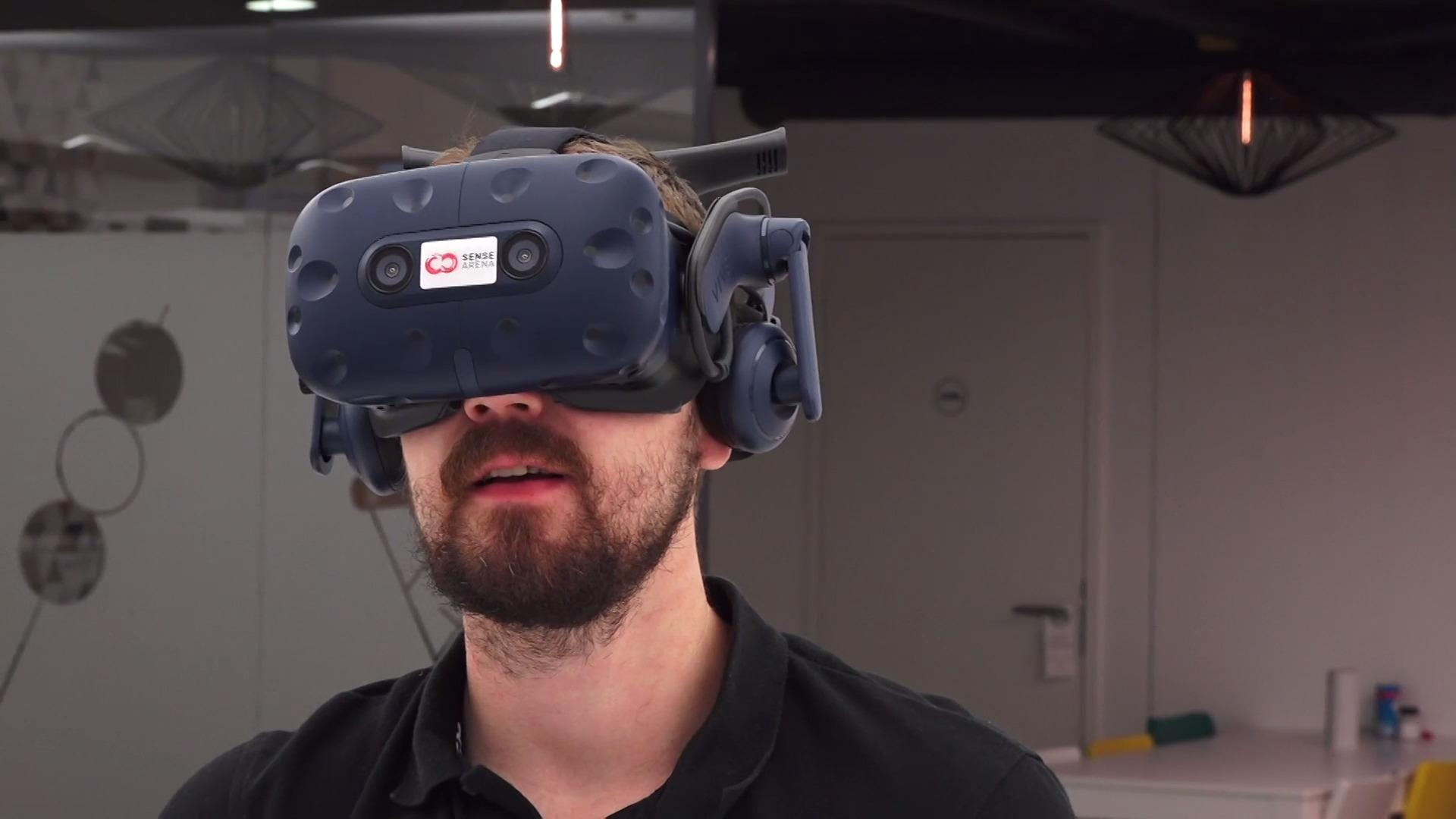 KYB video bezpečné jízdy ve virtuální realitě.