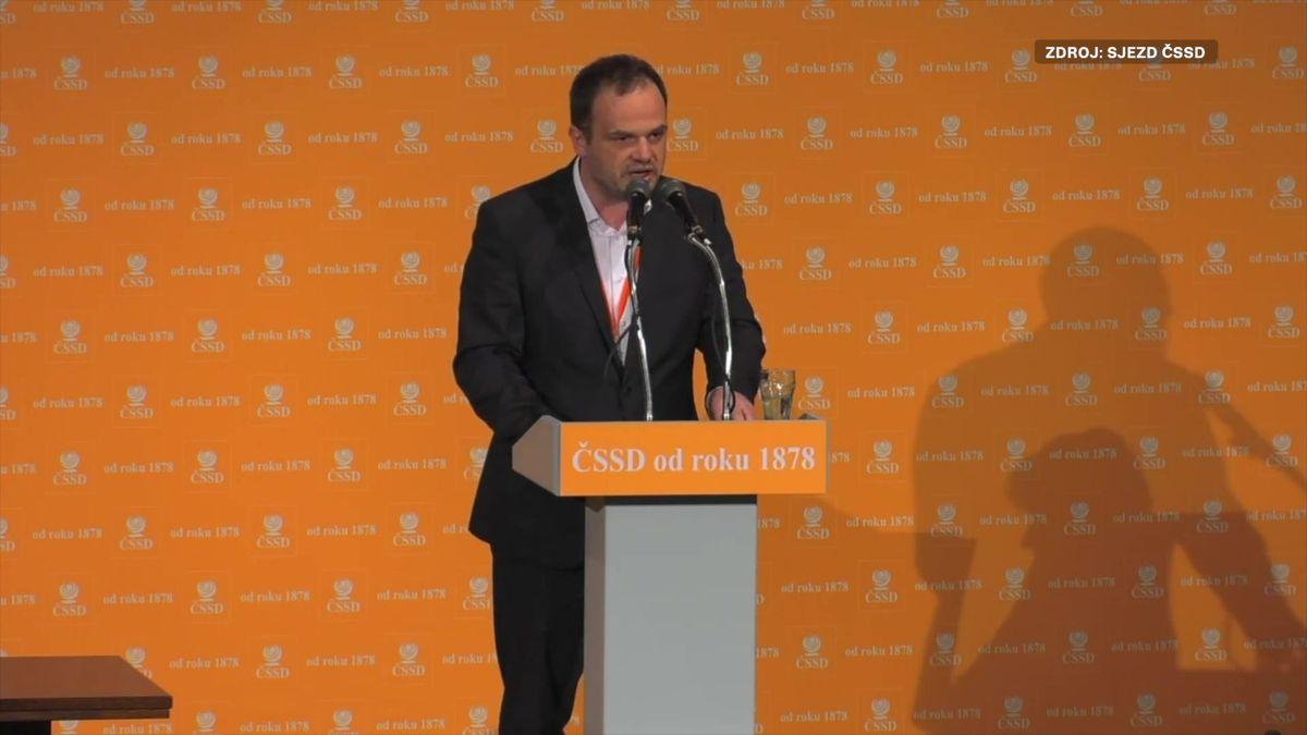 Nemusíme kandidovat pod značkou ČSSD. Tak zní recept nového místopředsedy strany na volební úspěch