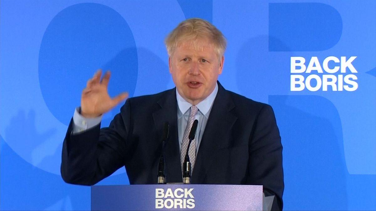Boris Johnson zahájil kampaň. Slíbil odchod Británie zEU do konce října