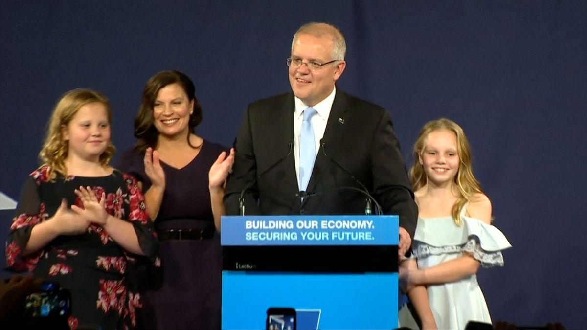 Australským premiérem zůstane konzervativec. Hlavním tématem voleb byly klimatické změny