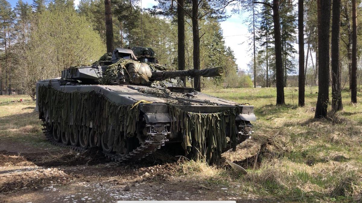 Ukazujeme odhodlání zasáhnout, říká ocvičení NATO velitel Estonců