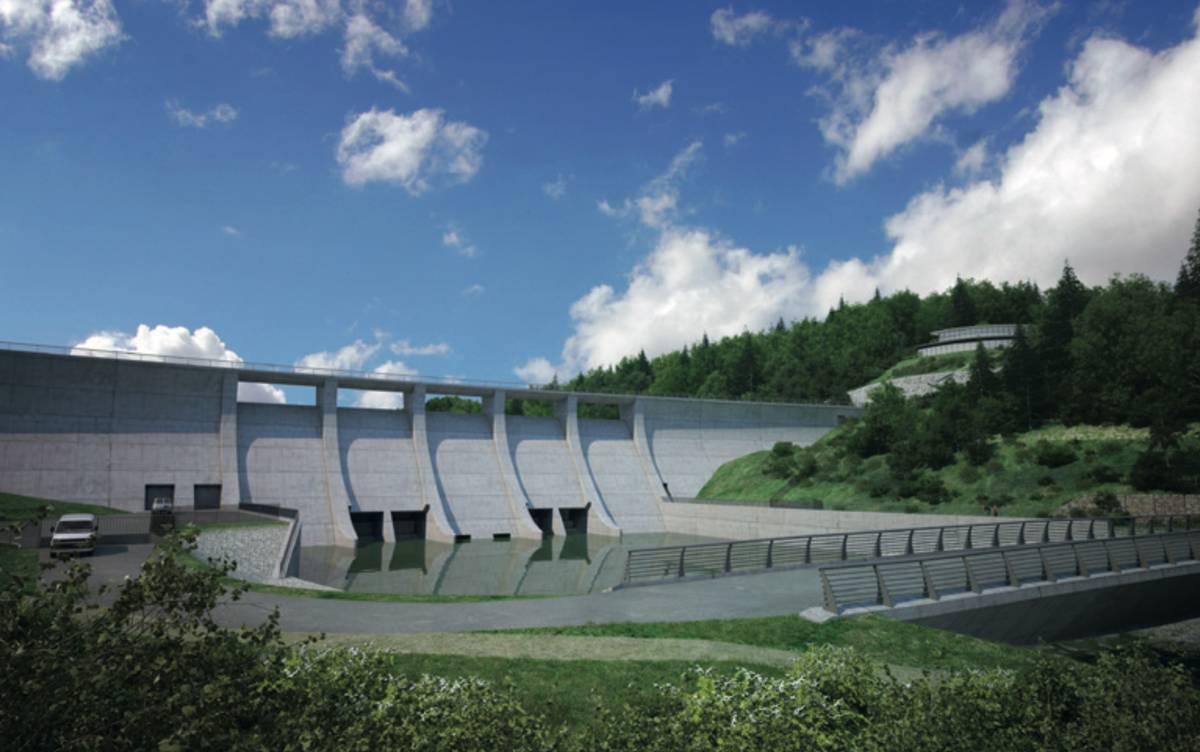 Za osm miliard by se měla postavit přehrada a nová silnice, cena ale zahrnuje i další úpravy celého koryta řeky.