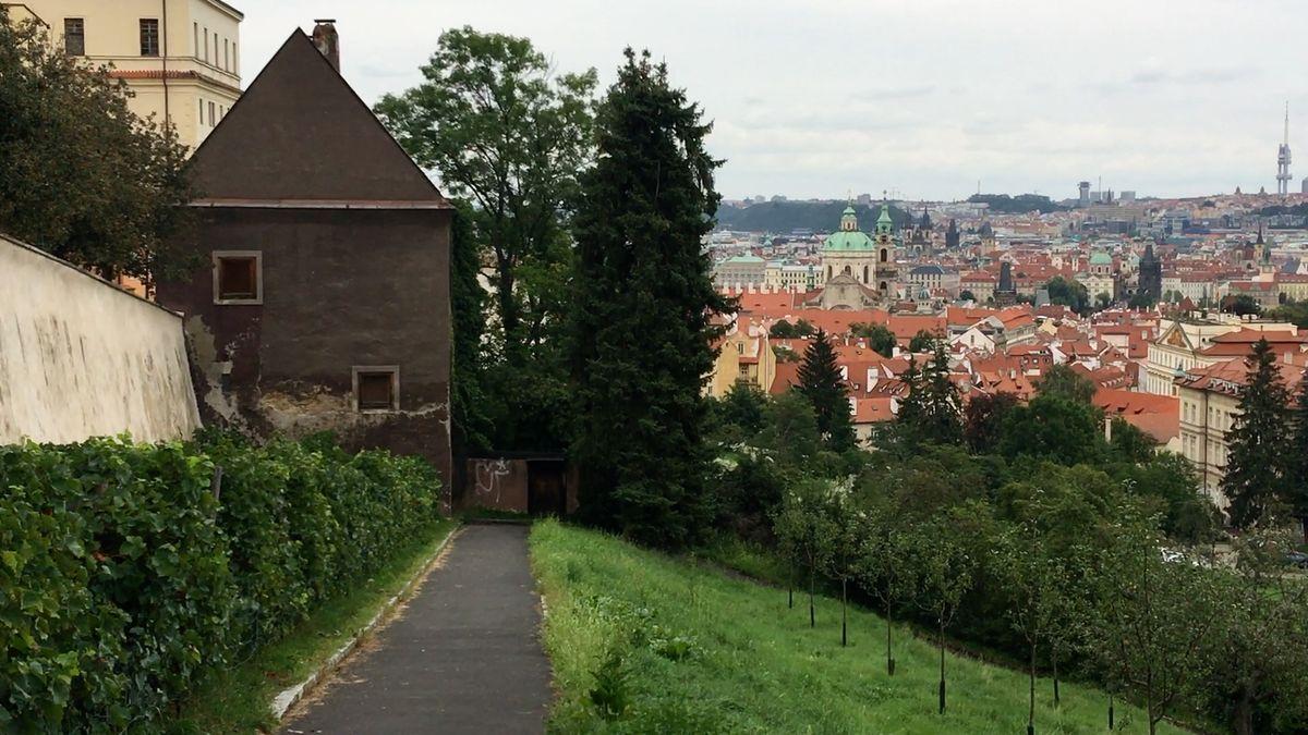Místní bojují proti otevření Strahovských zahrad turistům. Praha kvůli petici stavbu odložila