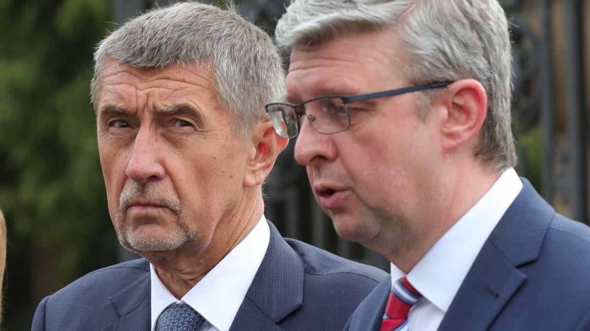Babiš a Havlíček připustili vstup státu do firem vproblémech