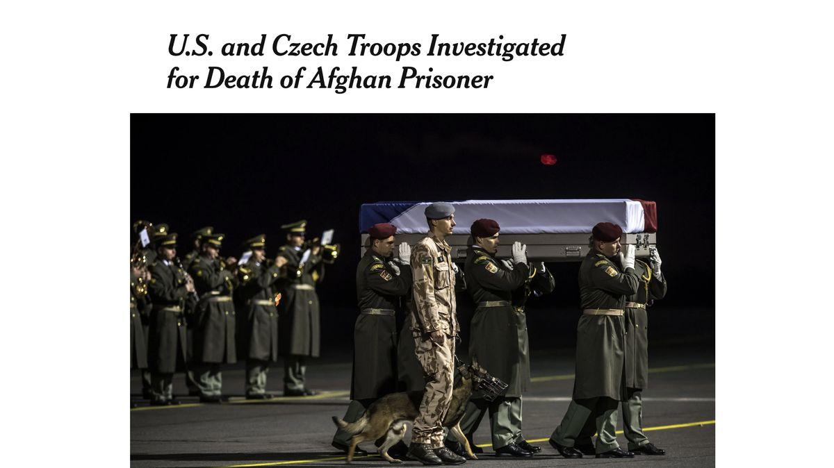 Policie obvinila čtyři vojáky zpodílu na smrti vraha českého psovoda