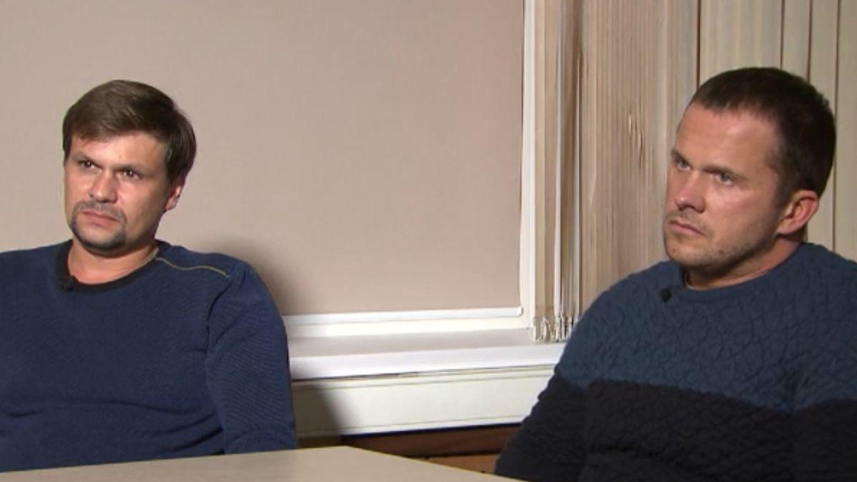 V Salisbury jsme byli jako turisté, tvrdí Rusové podezřelí z útoku na Skripalovy
