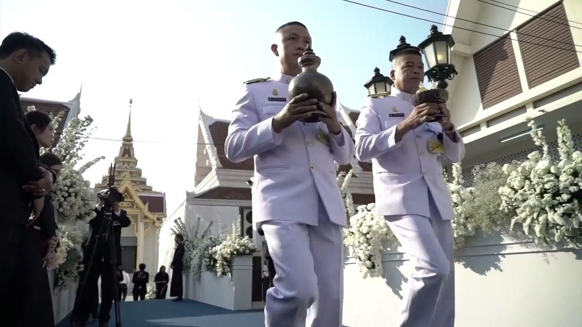 V Bangkoku začal pohřeb majitele Leicesteru Šrívaddhanaprabhy