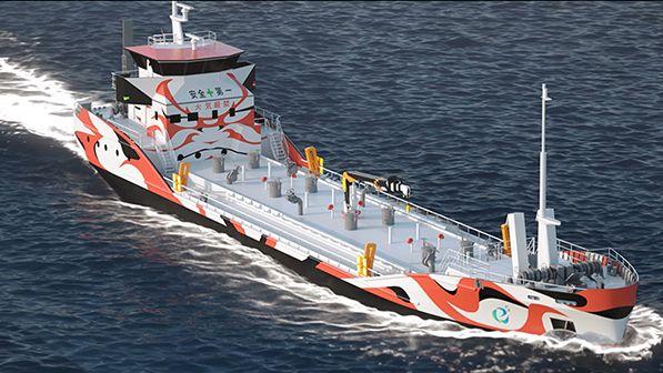 Tokijský záliv by mohl do dvou let brázdit elektrotanker