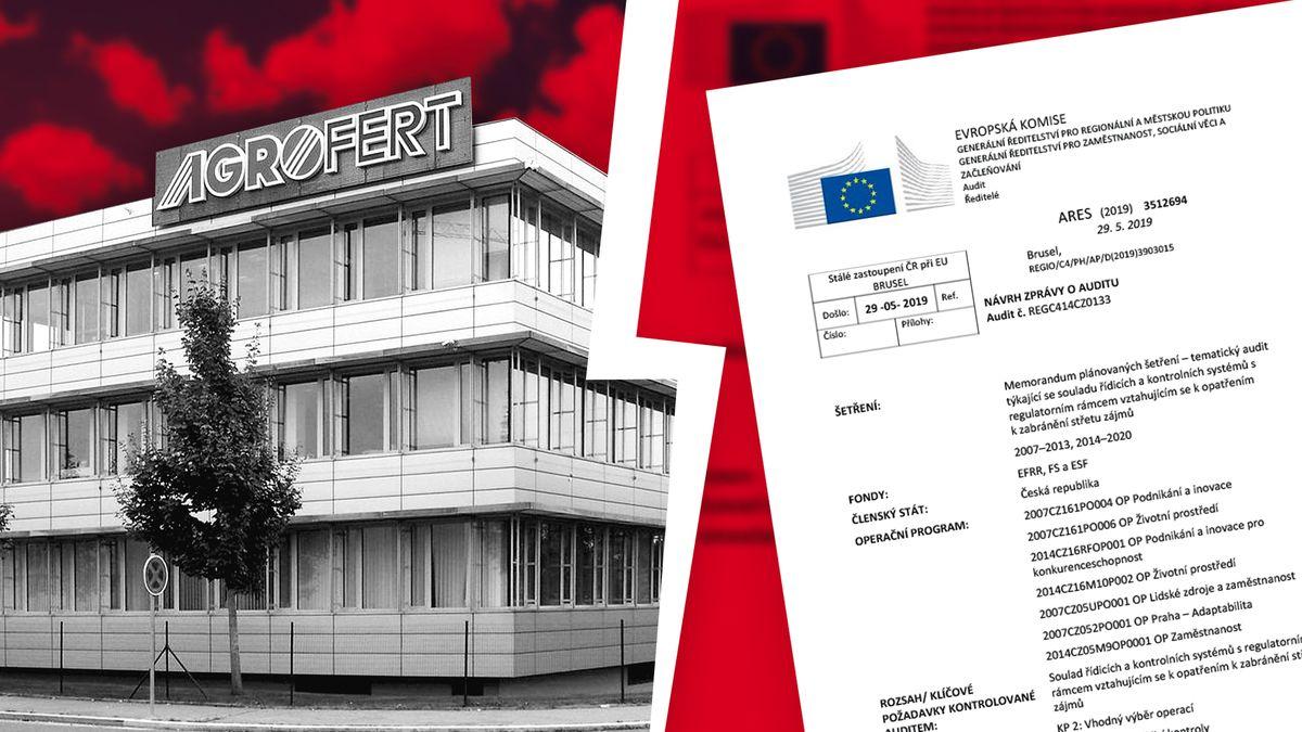 Audit včeském překladu: Proč komise nevěří Agrofertu, že skutečně zavádí novinky