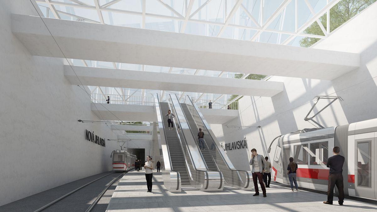 Brno chystá největší investici do veřejné dopravy za 20let. Tramvaj pod zemí zamíří do kampusu