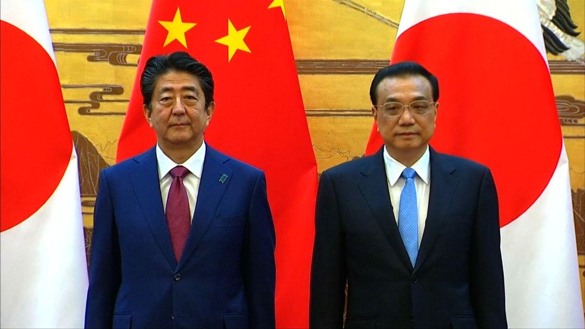 """Japonsko a Čína po desetiletích zlepšují vztahy. """"Vrátili jsme se do správných kolejí,"""" říká Si Ťin-pching"""