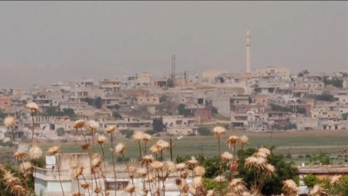 Při odvetném izraelském útoku na syrské pozice zemřelo 10lidí, většina vojáků