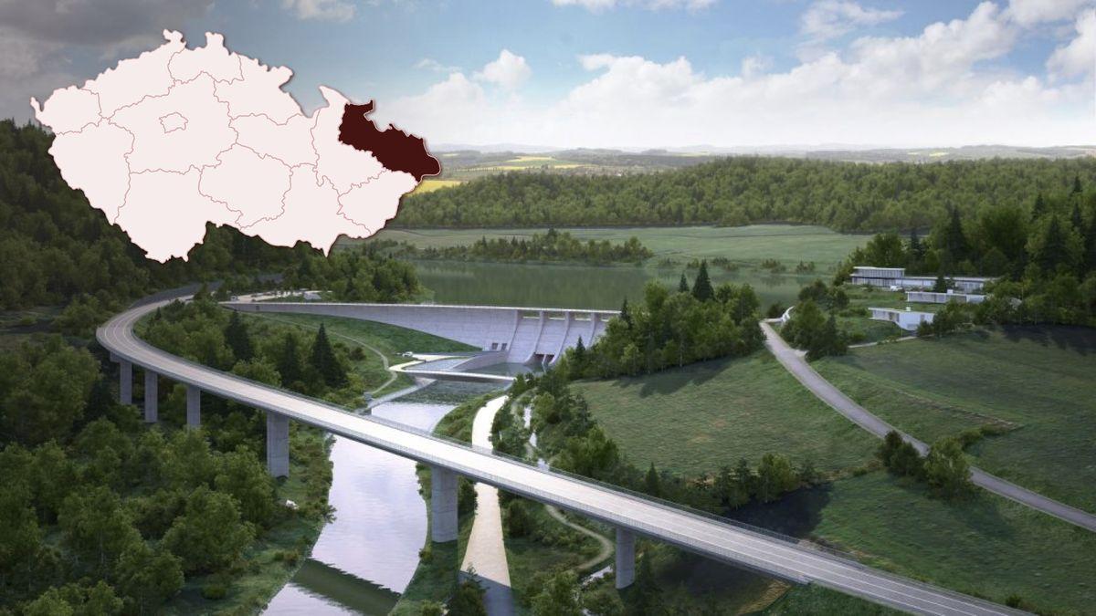 Kzemi jdou další domy. Uvolňují místo nové přehradě na severu Moravy