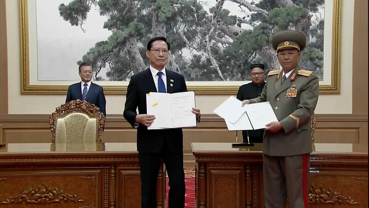 """Mun věří v """"novou éru míru"""", od Kima dostal konkrétní slib na zrušení jaderného střediska"""