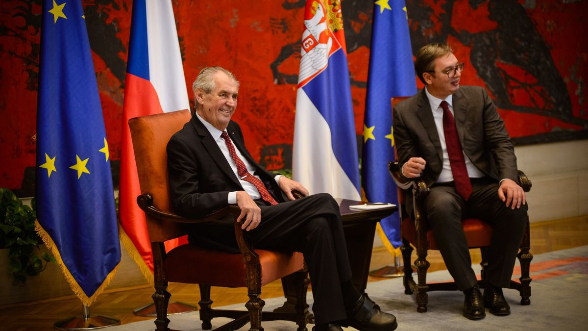 Zemanova facka Kosovu byla plánovaná, prozradil to diplomatům