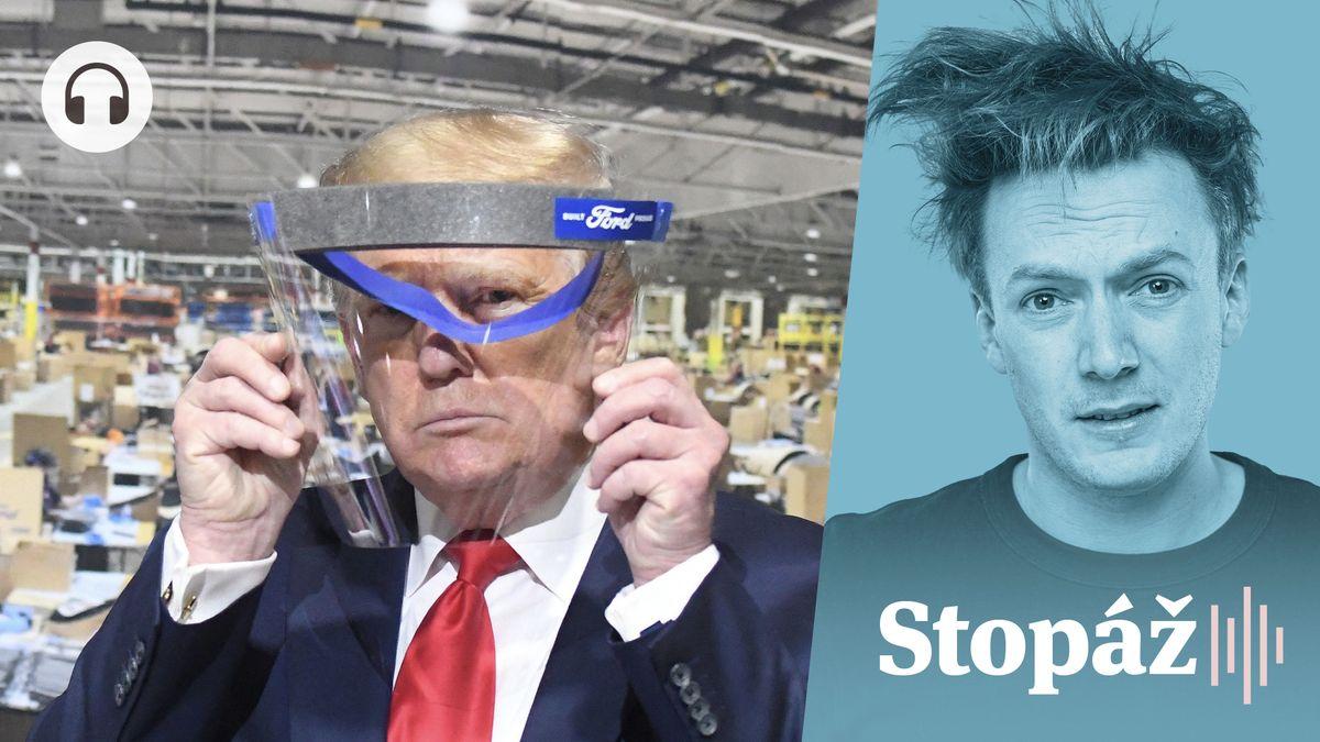 Trump pandemii nechápe a neřídí, prezidentské volby ale budou vjeho režii
