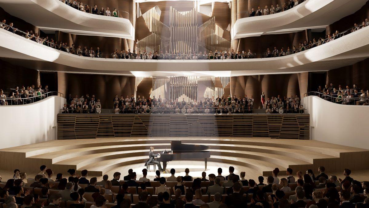 Nejmodernější koncertní sál se prodraží. Brno vyhlásí sbírku na varhany