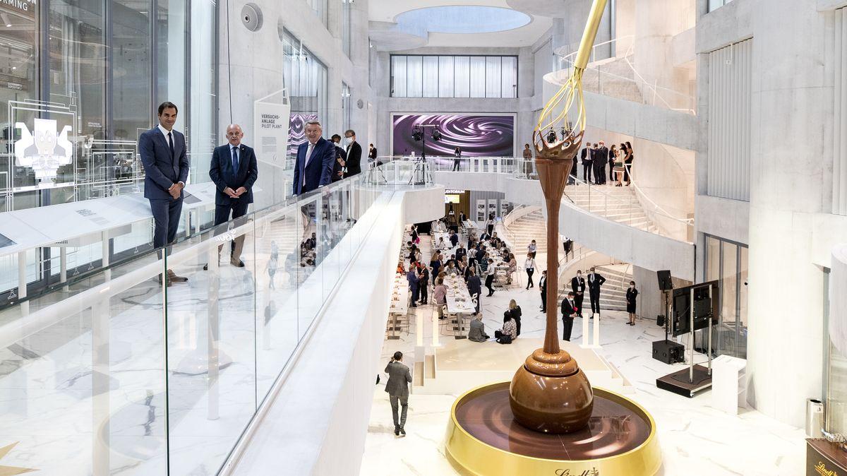 Čokoládový obr si postavil nové muzeum. Na první pohled je sladké