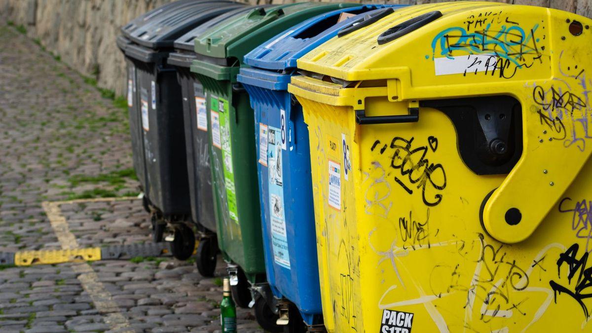 Soumrak žlutých popelnic? Hrozí chaos kvůli plastovému odpadu