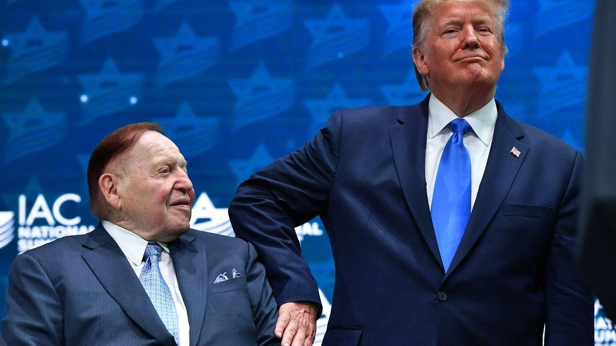 Zemřel obchodní magnát Adelson, podporoval Trumpa či Netanjahua