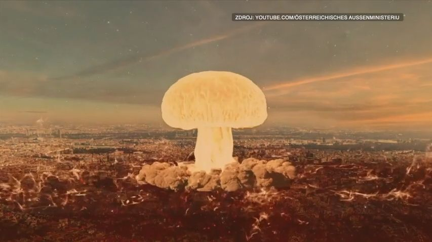 Kritika a posměch. Ministerstvo ve videu svrhlo atomovou bombu na Vídeň