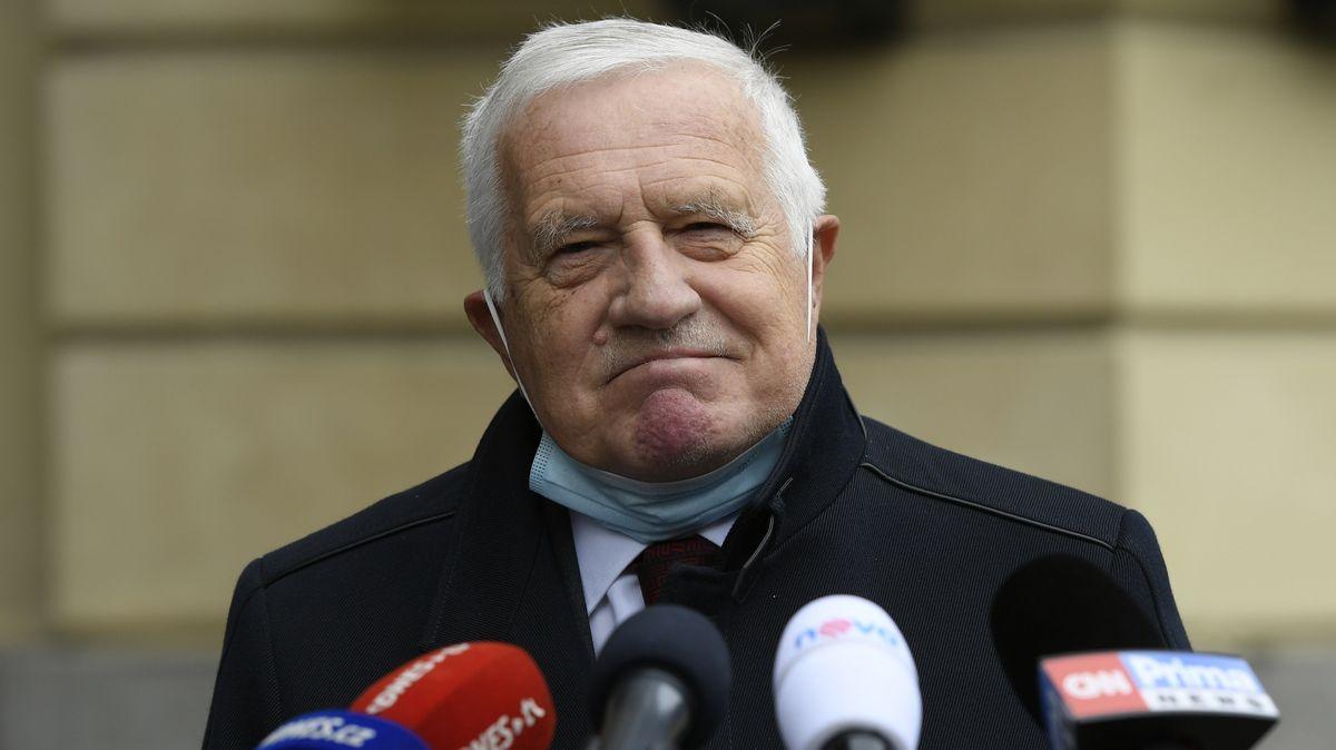 Václav Klaus má koronavirus