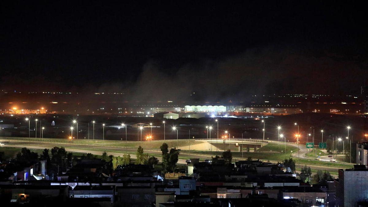 Raketový útok viráckému Kurdistánu si vyžádal mrtvého a zraněné