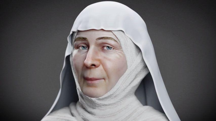 Unikátní rekonstrukce: Takto vypadala svatá Ludmila. Nebyla to žádná drobná dáma