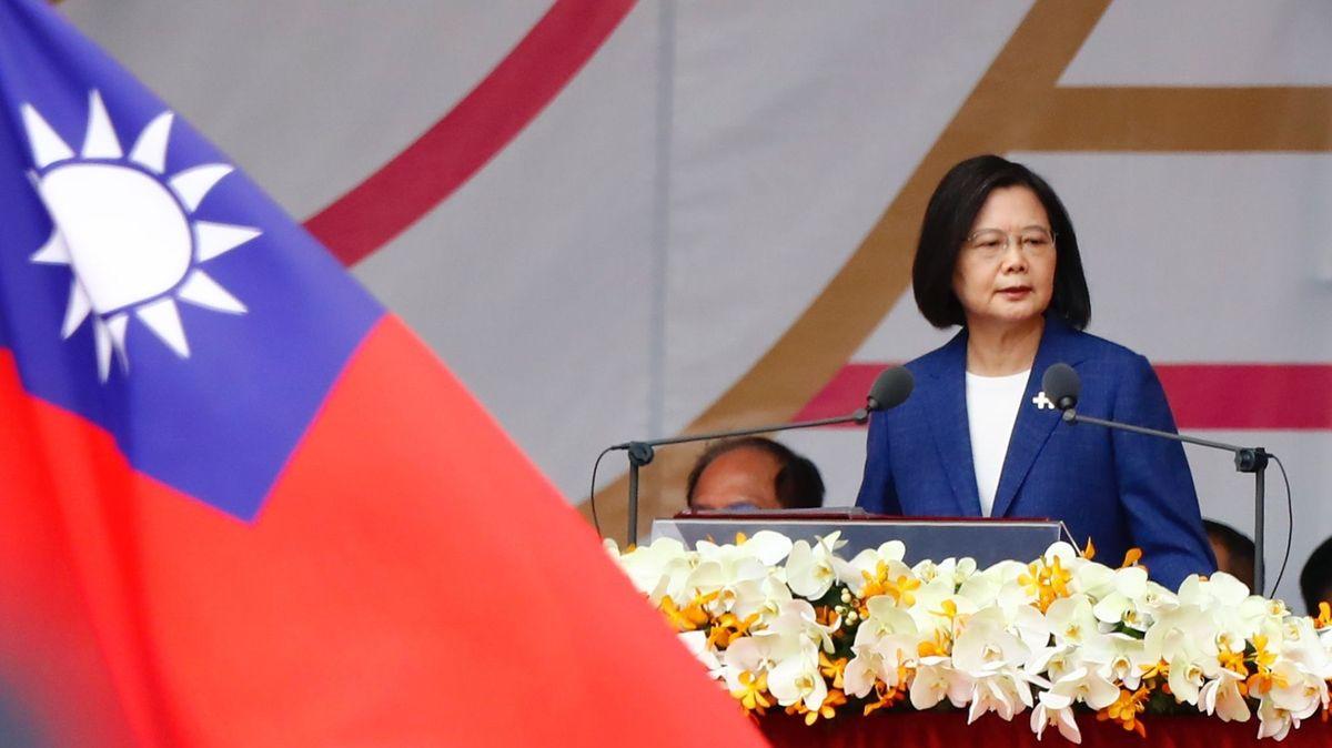 Vzkaz zTchaj-wanu do Číny: Budeme hájit demokracii, řekla prezidentka