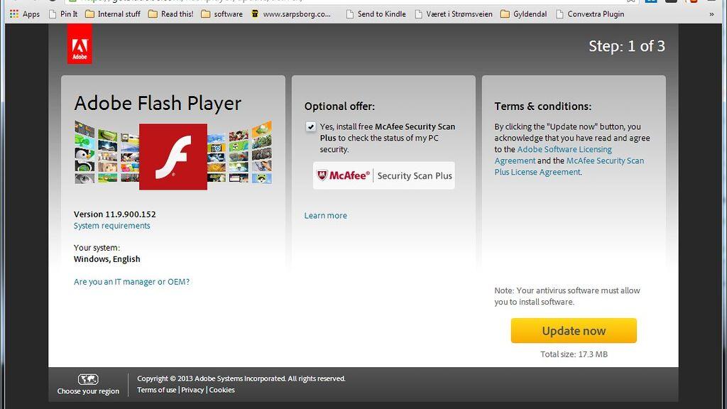 Sbohem, Adobe Flash. Software pojede do konce roku