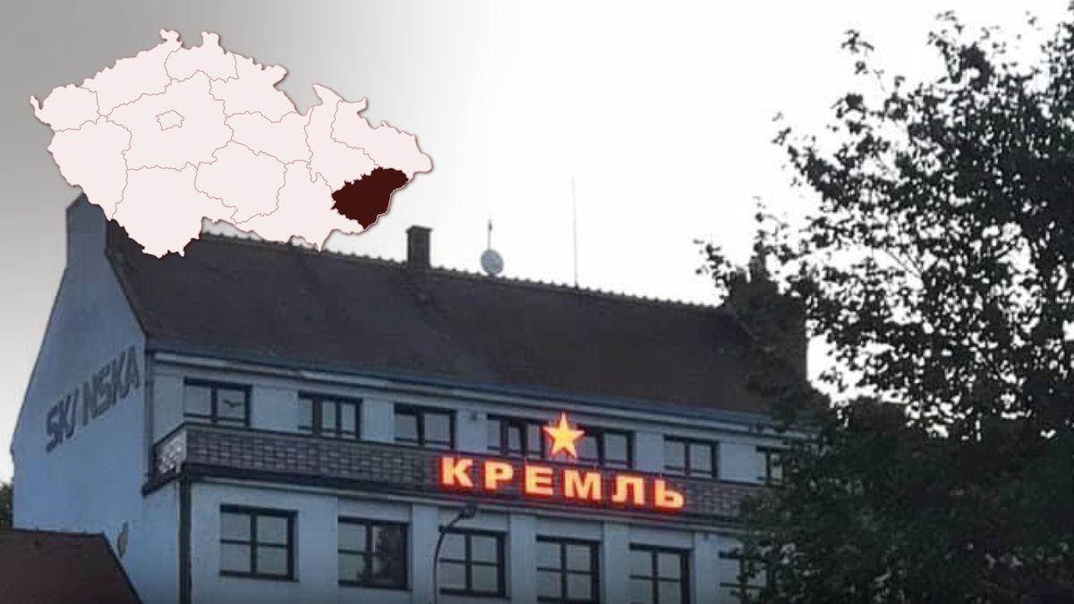 """Na domě září hvězda a azbuka. """"Tady není Sovětský svaz,"""" zlobí se starosta"""