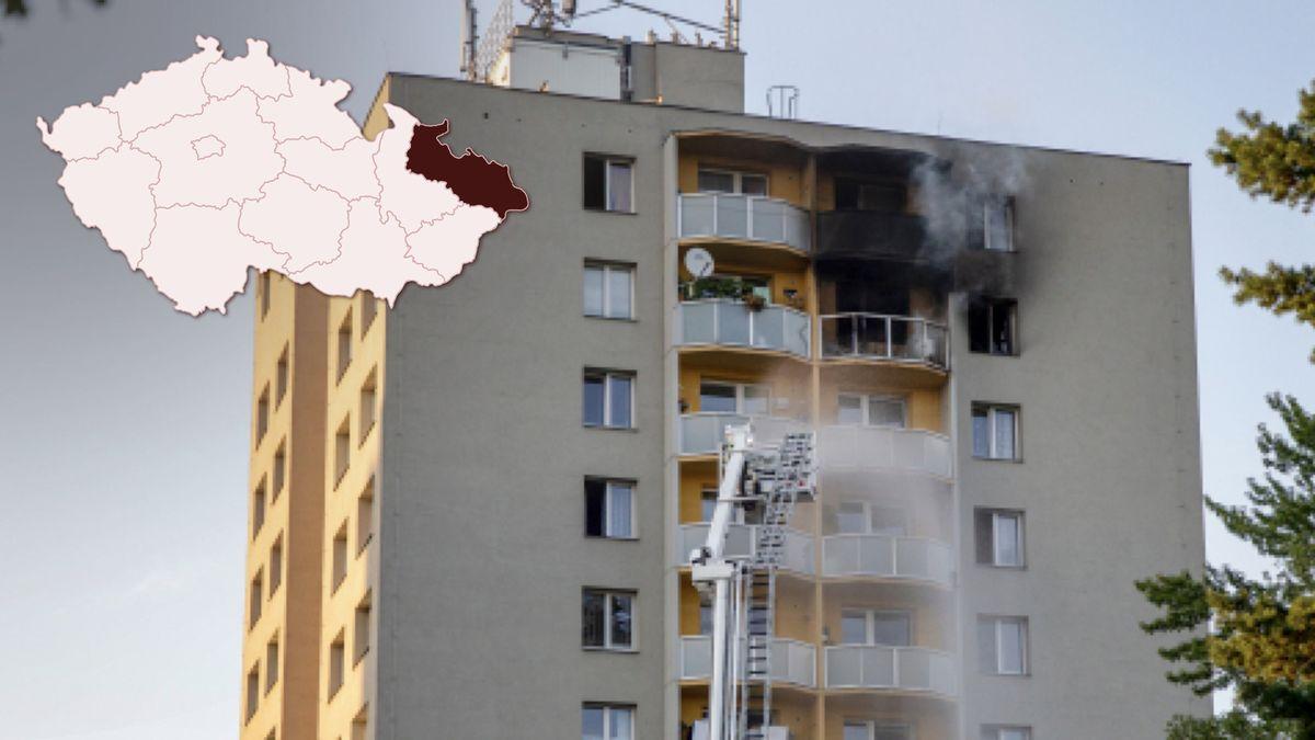 Bohumín dokončil hlavní opravy domu po loňském tragickém požáru